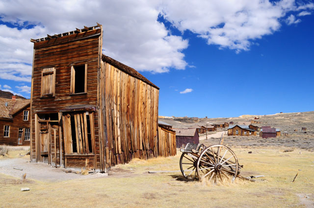 Old West Ghost Town in Arizona used for film productions.