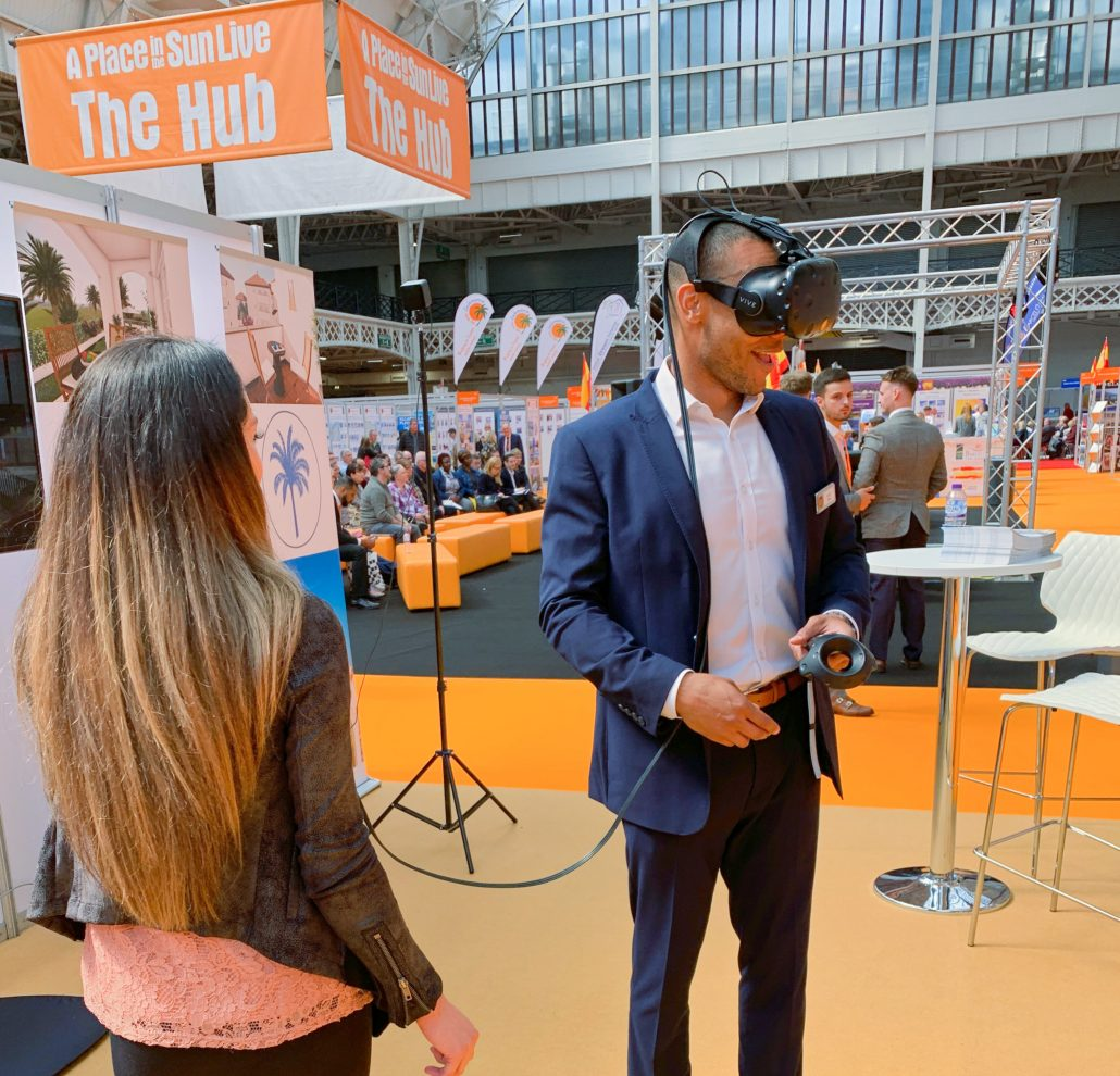A Place in the Sun conference sante oasis vr environment